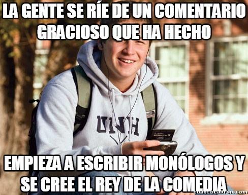 Universitario_primer_curso - Como si fuera tan fácil ser humorista...