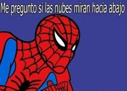 Enlace a Spiderman reflexiona