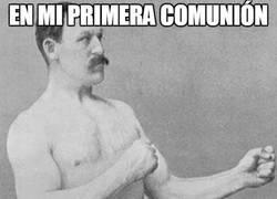 Enlace a La primera comunión de Overly Manly Man