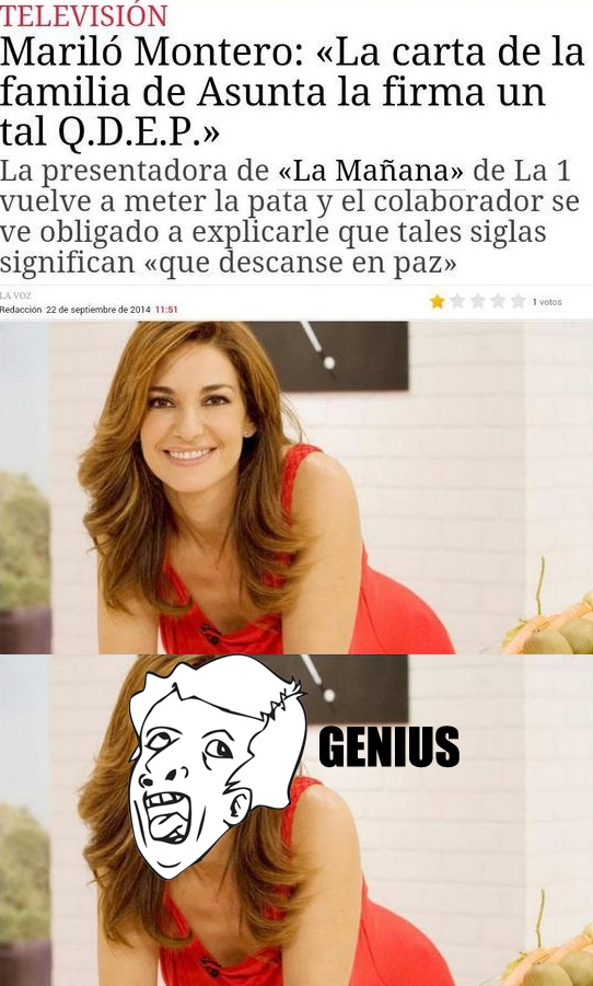 Otros - Este es el nivel de algunas presentadoras españolas
