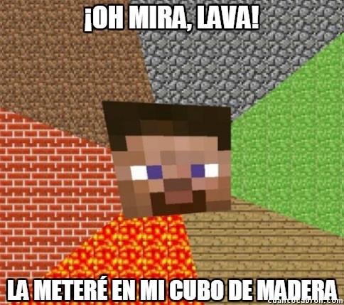 Minecraft - Lo típico del Minecraft