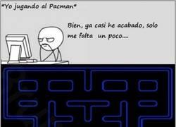 Enlace a La vida de Pacman es puro riesgo