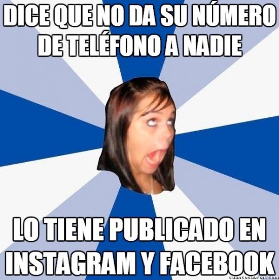 Amiga_facebook_molesta - No sé si son tontas a propósito o simplemente son así de malas