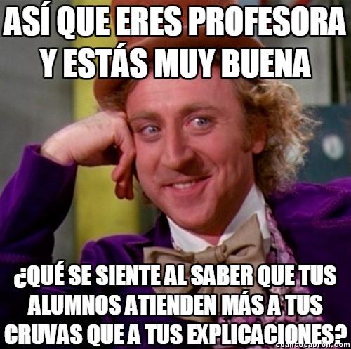 Wonka - Los problemas de una profesora realmente guapa