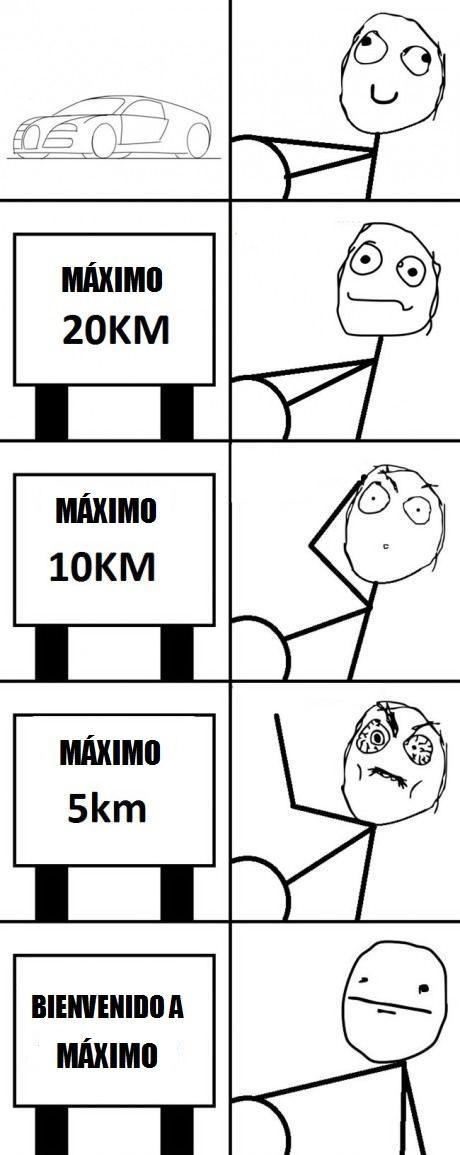 coche,correr,máximo,pueblo,velocidad