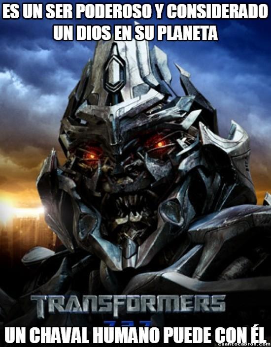 Meme_otros - Megatron prometía más de la cuenta