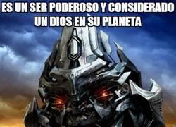 Enlace a Megatron prometía más de la cuenta