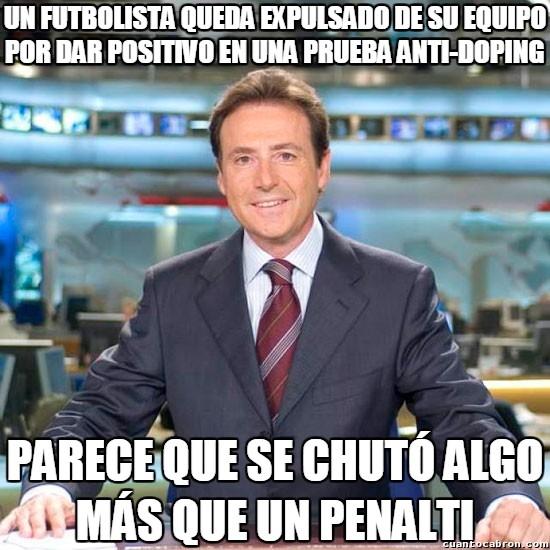 Meme_matias - El futbolista chutado