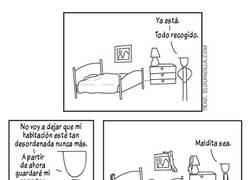 Enlace a La realidad del orden de mi habitación