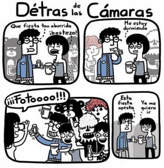 Otros - La realidad detrás de las cámaras en las fiestas