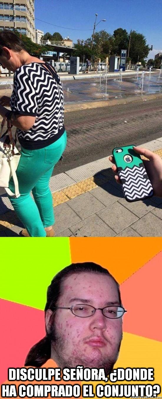 Gordo_granudo - Vestida como la funda de tu iPhone