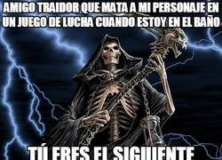 Enlace a La muerte vendrá a por ti, amigo traidor