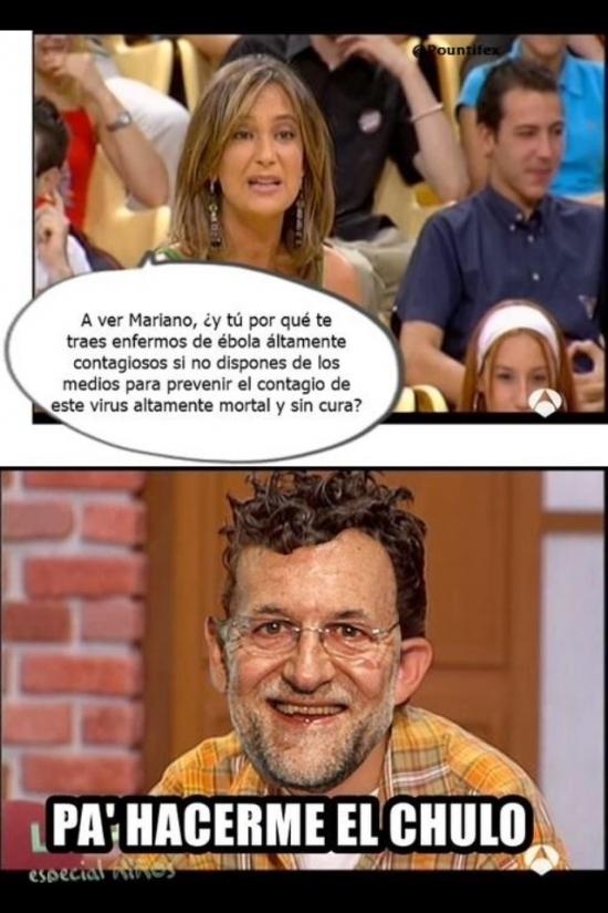 Meme_otros - Los motivos de Rajoy para traer el ébola a España