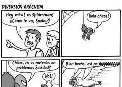 Enlace a La historia más realista de Spiderman