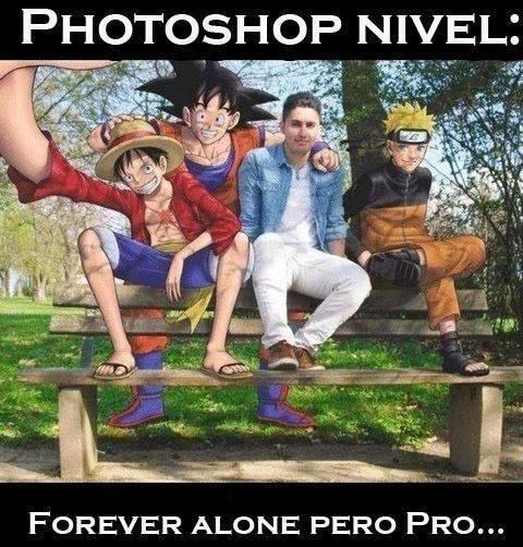 Meme_otros - Forever Alone pero pro del Photoshop