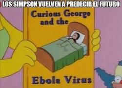 Enlace a Los Simpson ya se veían venir lo del ébola