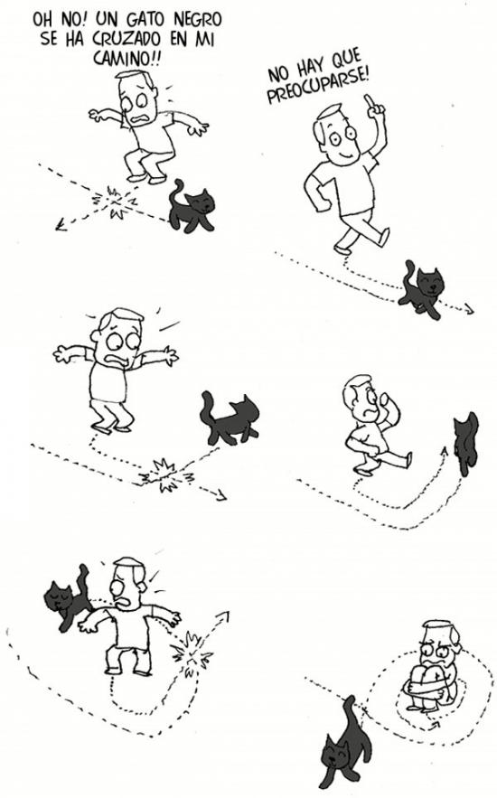 Otros - Un gato negro se ha cruzado en mi camino