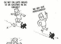 Enlace a Un gato negro se ha cruzado en mi camino