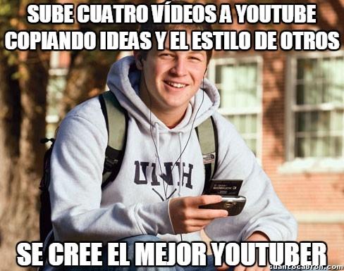 Universitario_primer_curso - ¡Ha nacido la nueva estrella youtuber!