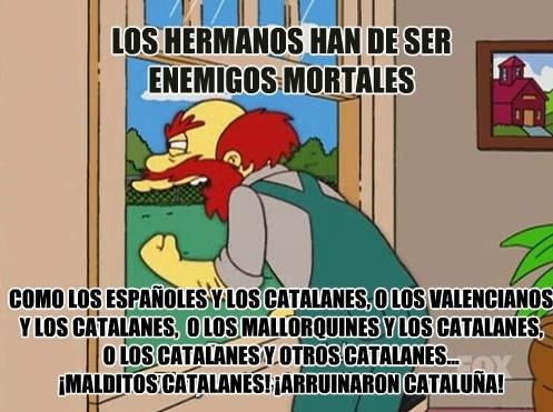 Meme_otros - El peor enemigo de los catalanes