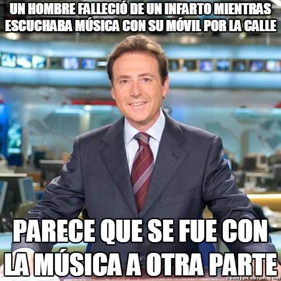 Meme_matias - Matías dando las noticias como sólo él sabe