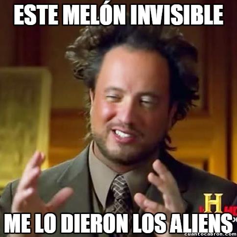 aliens,chiste sacado de internet,melón