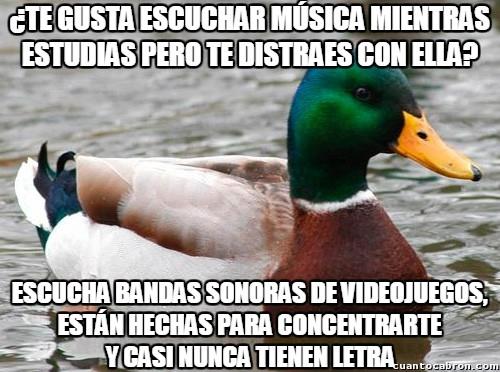 Pato_consejero - Para los que buscan música para estudiar