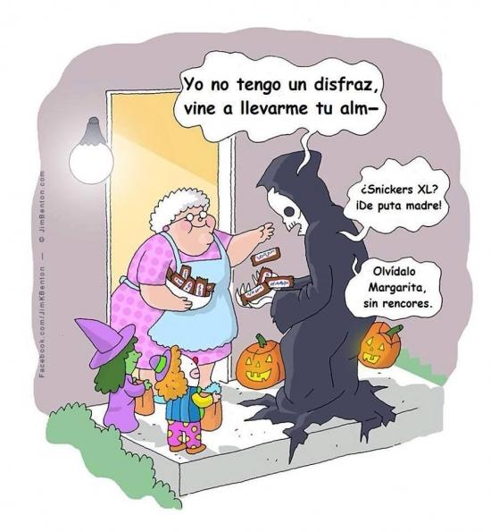 Otros - Dando eso en Halloween se perdona hasta la vida