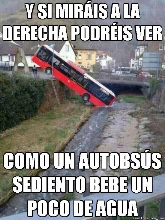Meme_otros - Un autobus con sed