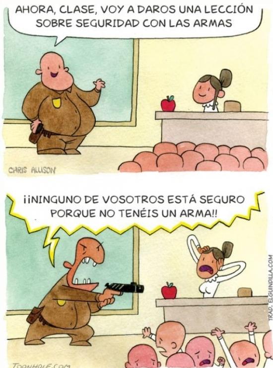 Otros - Clase de seguridad con las armas