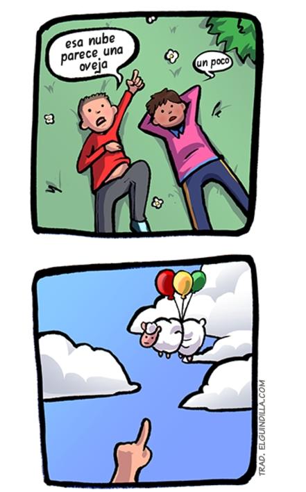 Otros - Nubes que parecen ovejas