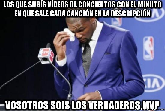 Meme_otros - Así se deberían subir todos los vídeos de conciertos