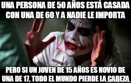 Joker - ¿En el amor la edad no importa? Ya, no importa...