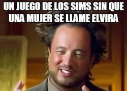 Enlace a ¿Qué les pasa a los Sims con Elvira?