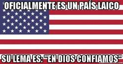 Enlace a Estados Unidos y su incoherencia religiosa