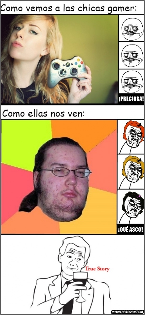 Otros - Chicas gamers vs chicos gamers