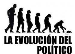 Enlace a La evolución del político