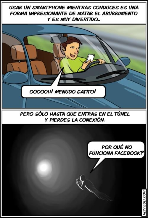 Otros - Si eres de los que usan el móvil mientras conduce como si tal cosa, deberías pensar en esto