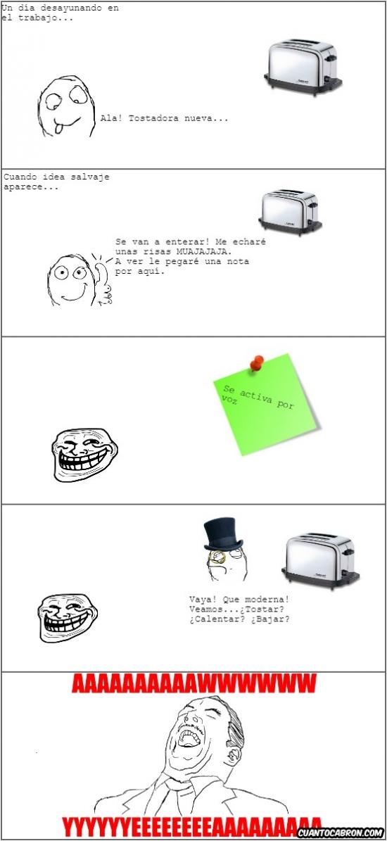 Trollface - Como trollear a tus compañeros de trabajo