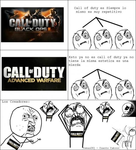 Ffffuuuuuuuuuu - Nadie entiende a los usuarios de Call of Duty