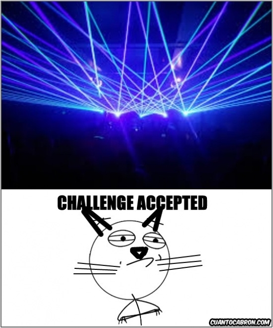 Challenge_accepted - El mayor desafío para un gato
