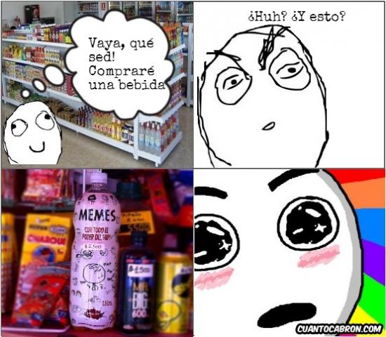 Amazed - Hasta los memes tienen su propia bebida