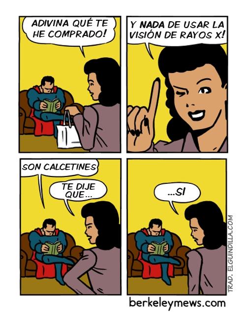 Otros - A veces no hace falta ser Superman para saber qué te van a regalar