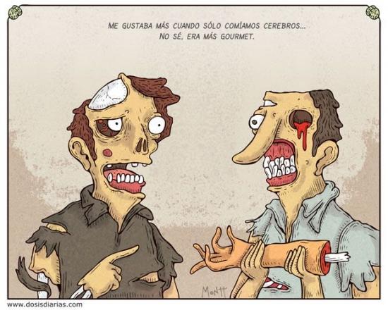 Otros - La vida de un zombie es cada vez más difícil