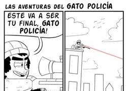 Enlace a Las aventuras del gato policía
