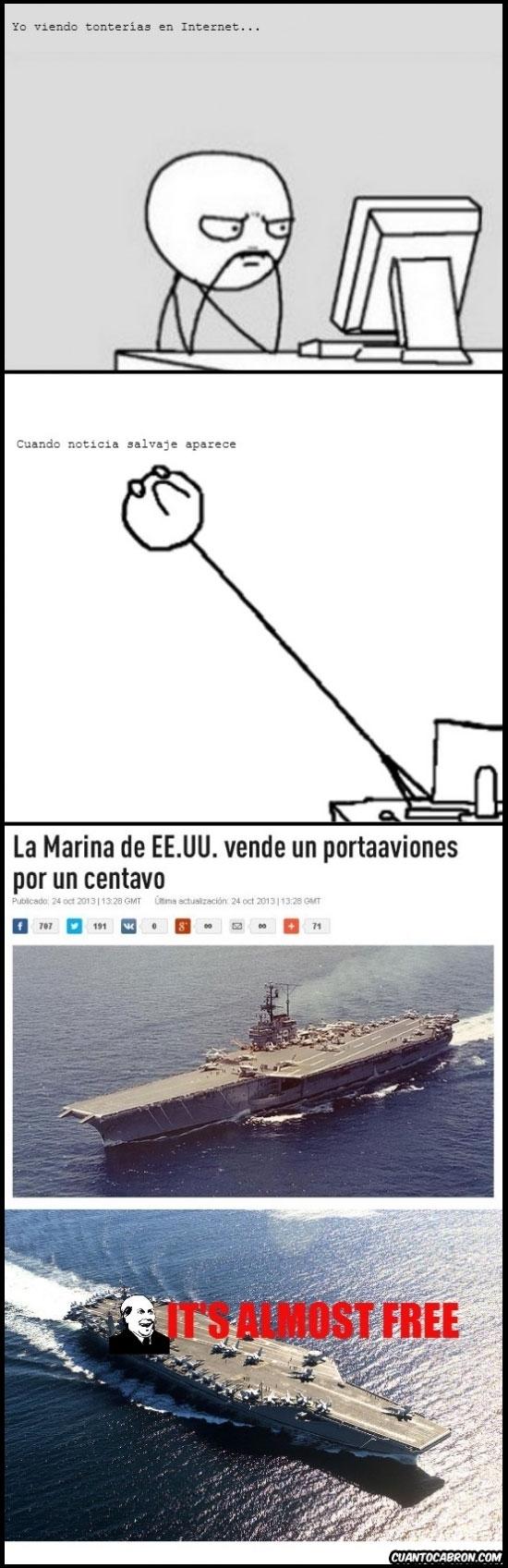 Its_free - Jo, yo que siempre he querido tener un portaaviones...