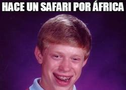Enlace a Si vas de safari, que no sea con Brian