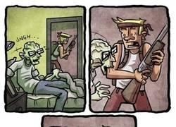 Enlace a ¿Es que nadie piensa en los zombis sin dientes?