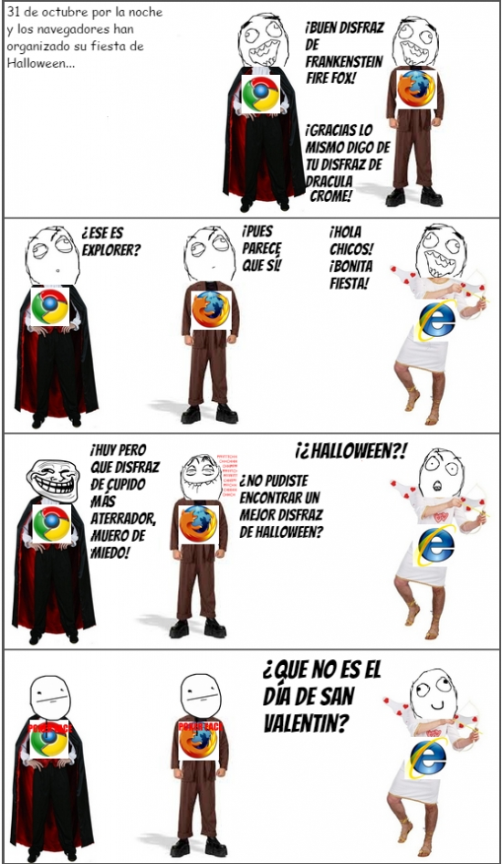Retarded - El disfraz de Internet Explorer