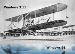 Enlace a La evolución de Windows